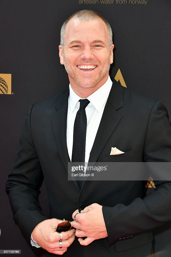 Actor Sean Carrigan arrives at the 43rd Annual Daytime Emmy Awards at the Westin Bonaventure Hotel on May 1, 2016 in Los Angeles, California.