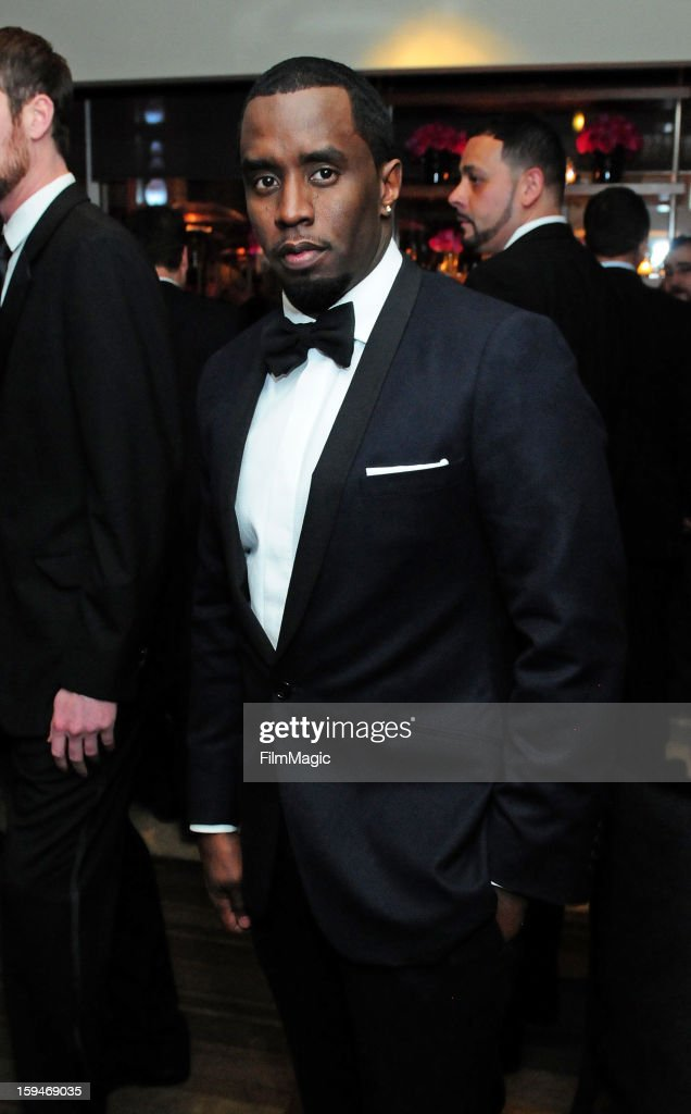 Actor <a gi-track='captionPersonalityLinkClicked' href=/galleries/search?phrase=Sean+Combs&family=editorial&specificpeople=178993 ng-click='$event.stopPropagation()'>Sean Combs</a> attends HBO's Official Golden Globe Awards After Party held at Circa 55 Restaurant at The Beverly Hilton Hotel on January 13, 2013 in Beverly Hills, California.