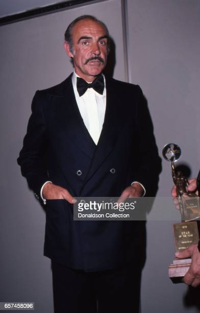 Actor Sean Connery attends an event in Los Angeles California