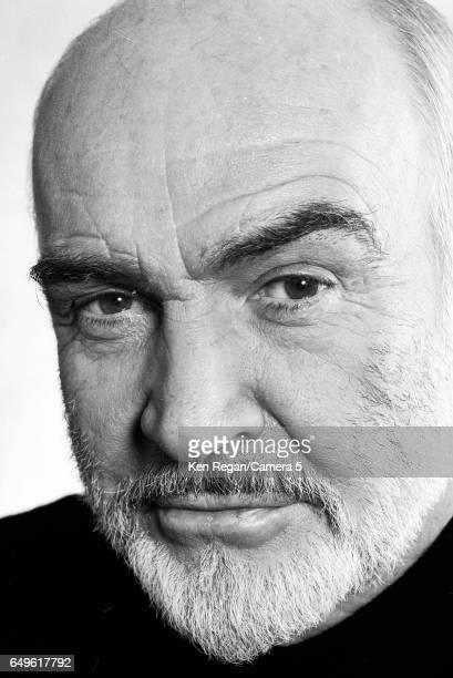 Actor Sean Connery is photographed for Entertainment Weekly Magazine in 1995 in New York City CREDIT MUST READ Ken Regan/Camera 5 via Contour by...