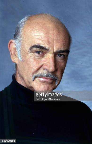 Actor Sean Connery is photographed for Entertainment Weekly Magazine in 1996 in New York City CREDIT MUST READ Ken Regan/Camera 5 via Contour by...