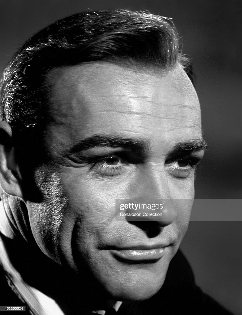 Actor <a gi-track='captionPersonalityLinkClicked' href=/galleries/search?phrase=Sean+Connery&family=editorial&specificpeople=201589 ng-click='$event.stopPropagation()'>Sean Connery</a> poses as James Bond for a publicity photo for the United Artists fim 'Goldfinger' in 1964 Photo by Donaldson Collection/Michael Ochs Archives/Getty Images