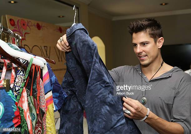 Actor Sean Faris attends Kari Feinstein's Music Festival Style Lounge at Sunset Marquis Hotel Villas on April 7 2015 in West Hollywood California