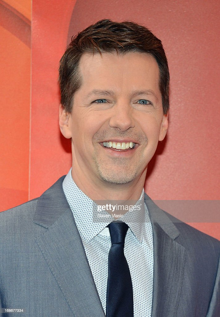 Actor Sean Hayes attends 2013 NBC Upfront Presentation Red Carpet Event at Radio City Music Hall on May 13, 2013 in New York City.