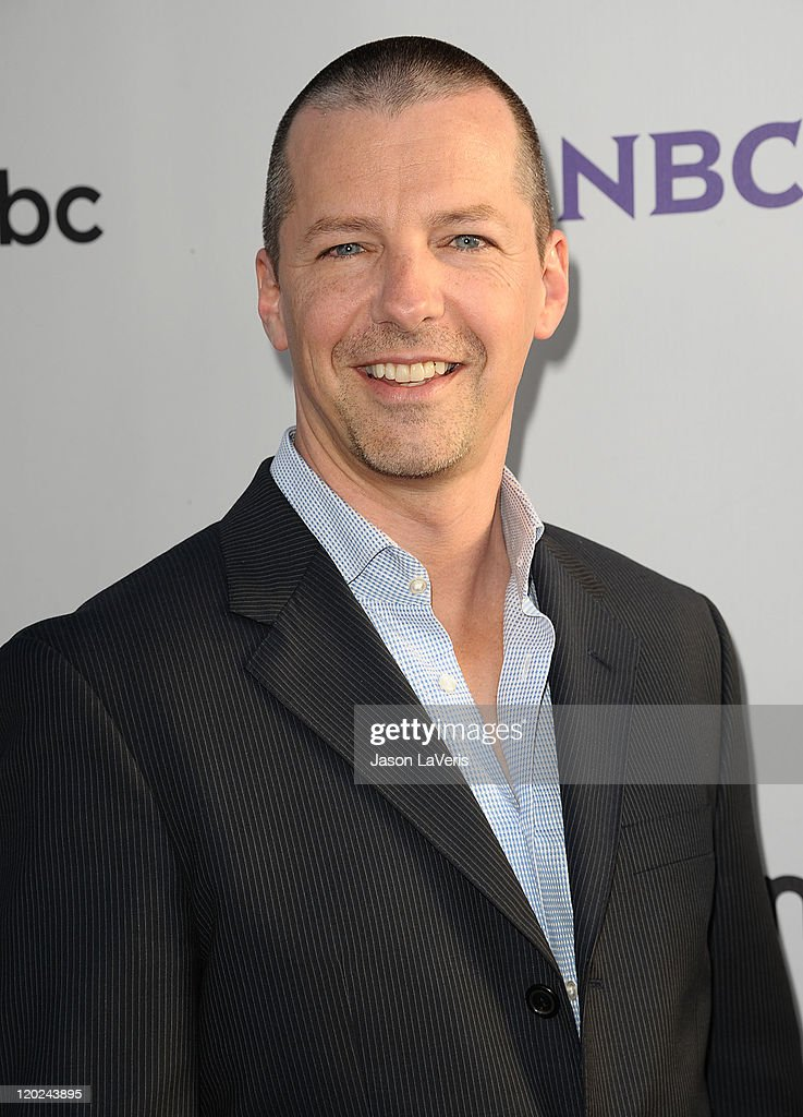 Actor <a gi-track='captionPersonalityLinkClicked' href=/galleries/search?phrase=Sean+Hayes&family=editorial&specificpeople=204240 ng-click='$event.stopPropagation()'>Sean Hayes</a> attends NBC's 2011 TCA summer press tour at The Bazaar at the SLS Hotel on August 1, 2011 in Los Angeles, California.