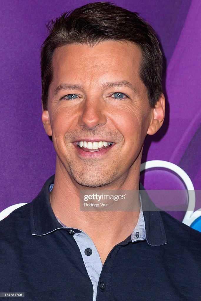 Actor <a gi-track='captionPersonalityLinkClicked' href=/galleries/search?phrase=Sean+Hayes&family=editorial&specificpeople=204240 ng-click='$event.stopPropagation()'>Sean Hayes</a> attends the 2013 Television Critic Association's Summer Press Tour - NBC Party at The Beverly Hilton Hotel on July 27, 2013 in Beverly Hills, California.