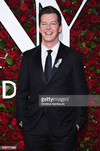 Actor Sean Hayes attends the 70th Annual Tony Awards at The Beacon Theatre on June 12 2016 in New York City