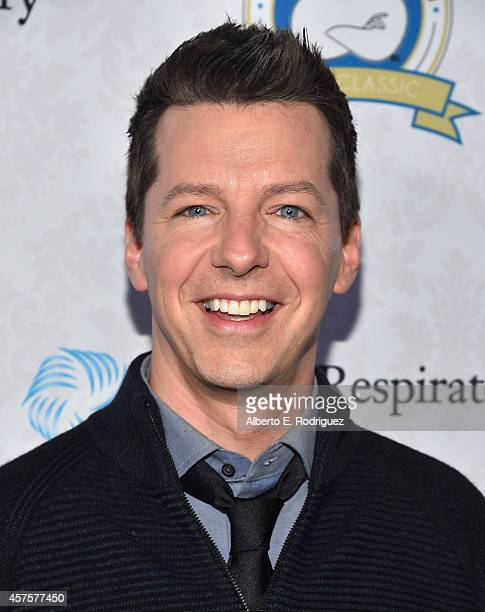 Actor Sean Hayes attends the Barlow Respiratory Hospitals 4th Annual Bernie Brillstein Golf Classic Awards Dinner at the Wilshire Country Club on...