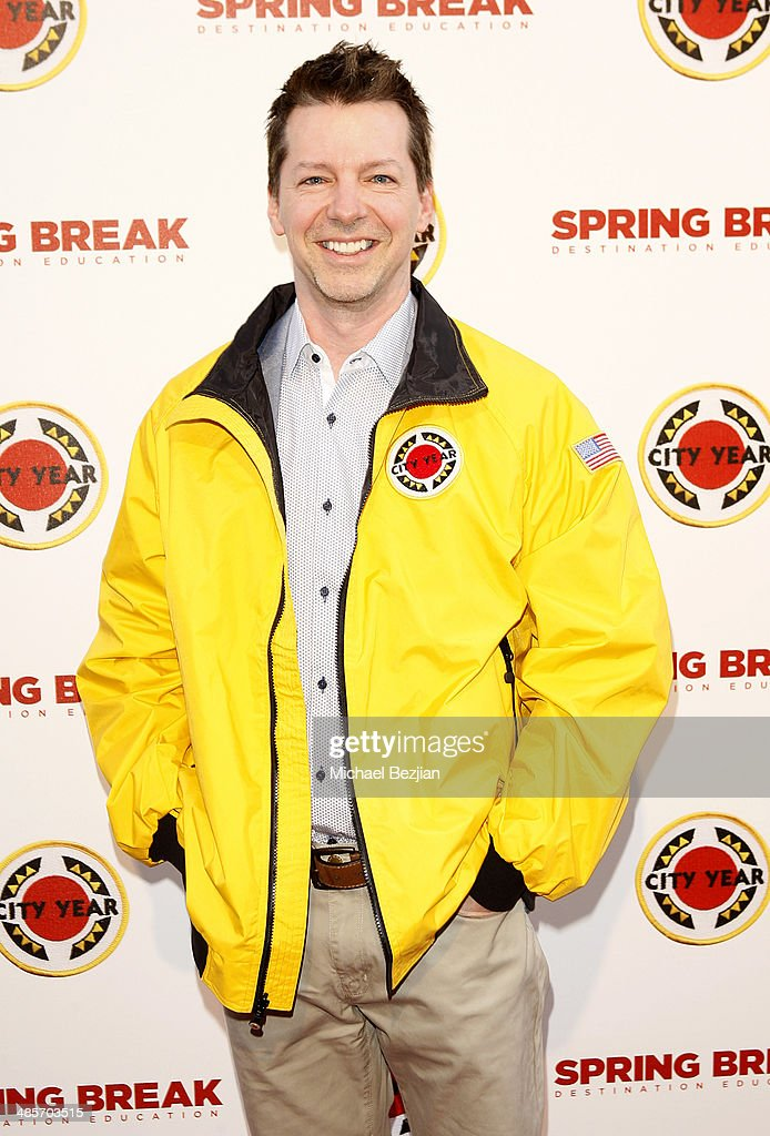Actor <a gi-track='captionPersonalityLinkClicked' href=/galleries/search?phrase=Sean+Hayes&family=editorial&specificpeople=204240 ng-click='$event.stopPropagation()'>Sean Hayes</a> attends the City Year Los Angeles 'Spring Break' Fundraiser at Sony Studios on April 19, 2014 in Los Angeles, California.