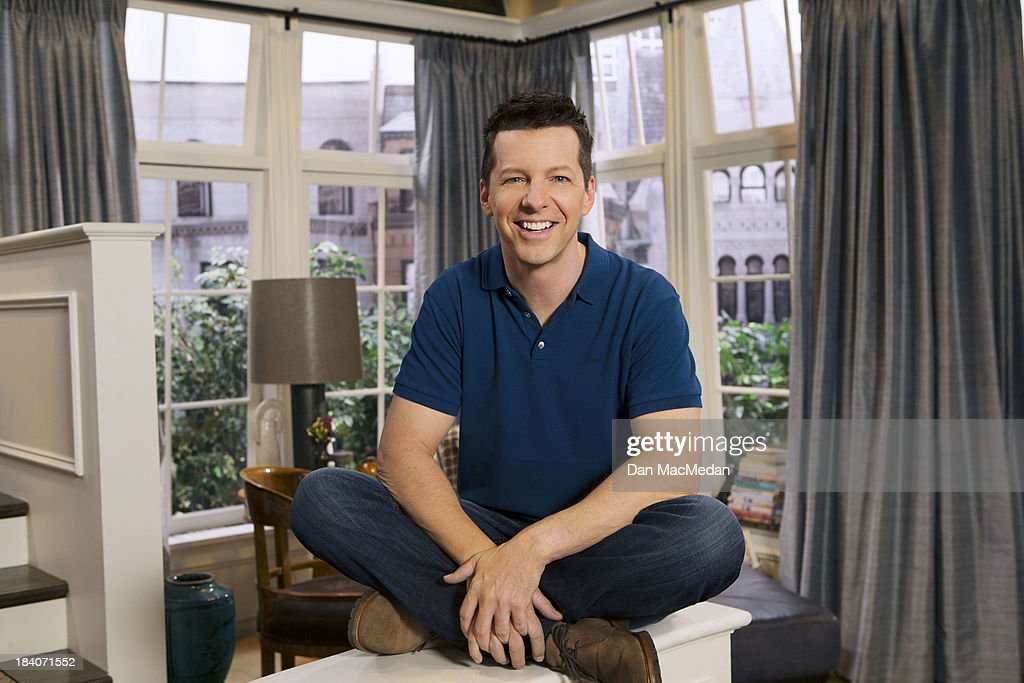 Actor <a gi-track='captionPersonalityLinkClicked' href=/galleries/search?phrase=Sean+Hayes&family=editorial&specificpeople=204240 ng-click='$event.stopPropagation()'>Sean Hayes</a> is photographed for USA Today on September 25, 2013 on the set of 'Sean Saves the World' in Universal City, California. PUBLISHED