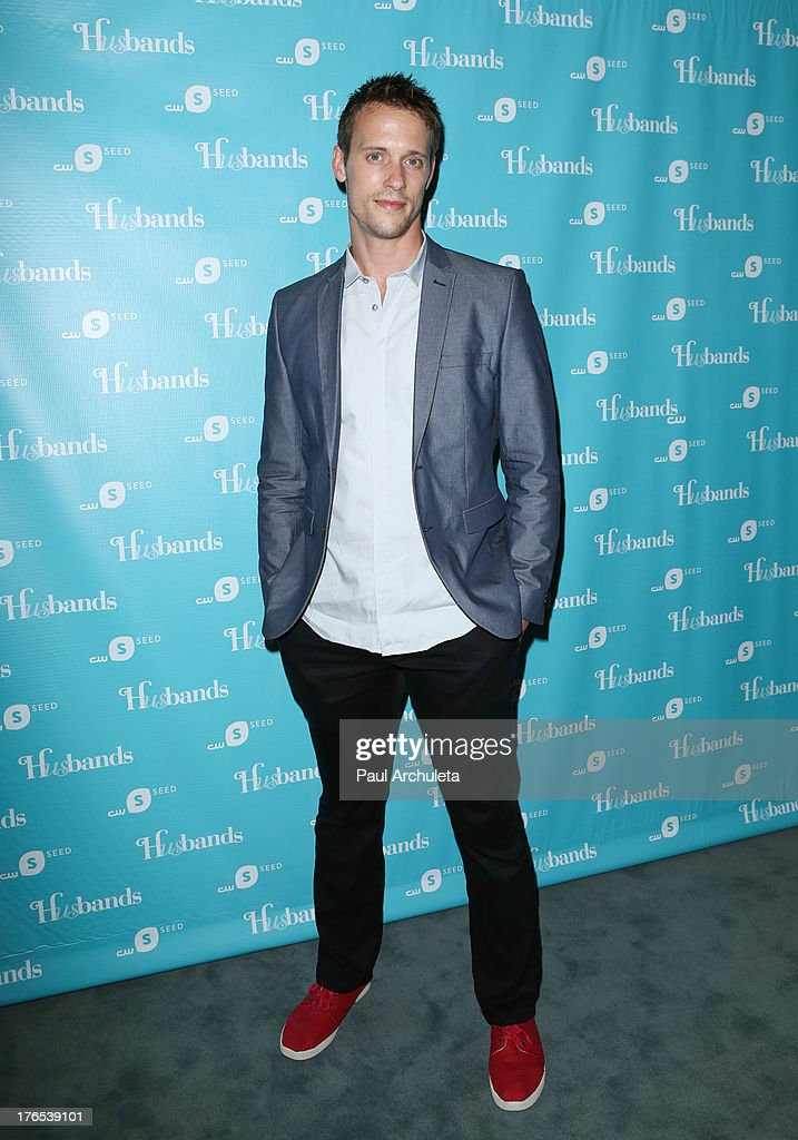 Actor Sean Hemeon attends the premiere of 'Husbands' at The Paley Center for Media on August 14, 2013 in Beverly Hills, California.