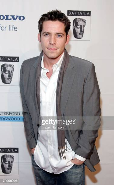 Actor Sean Maguire arrives at the British Academy of Film and Television Arts Los Angeles season tea party held at the Four Seasons Hotel on January...