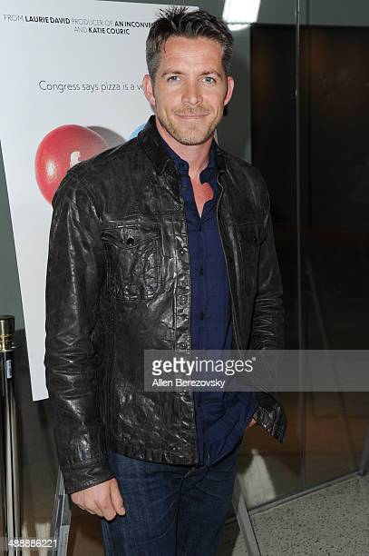 Actor Sean Maguire arrives at the Los Angeles premiere of 'Fed Up' at Pacfic Design Center on May 8 2014 in West Hollywood California