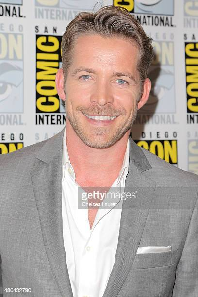 Actor Sean Maguire arrives at the 'Once Upon a Time' press room on July 11 2015 in San Diego California