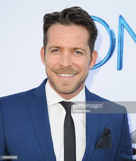 Actor Sean Maguire attends ABC's 'Once Upon A Time' Season 4 red carpet premiere at the El Capitan Theatre on September 21 2014 in Hollywood...