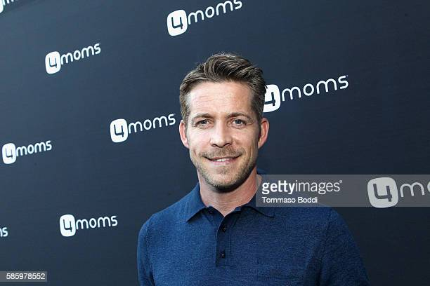 Actor Sean Maguire attends the 4moms Car Seat launch event at Petersen Automotive Museum on August 4 2016 in Los Angeles California