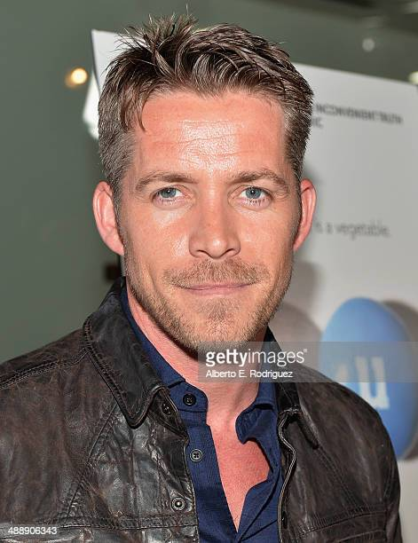 Actor Sean Maguire attends the premiere of Atlas Films' 'Fed Up' at Pacfic Design Center on May 8 2014 in West Hollywood California