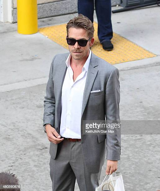 Actor Sean Maguire is seen at ComicCon International 2015 on July 12 2015 in San Diego California