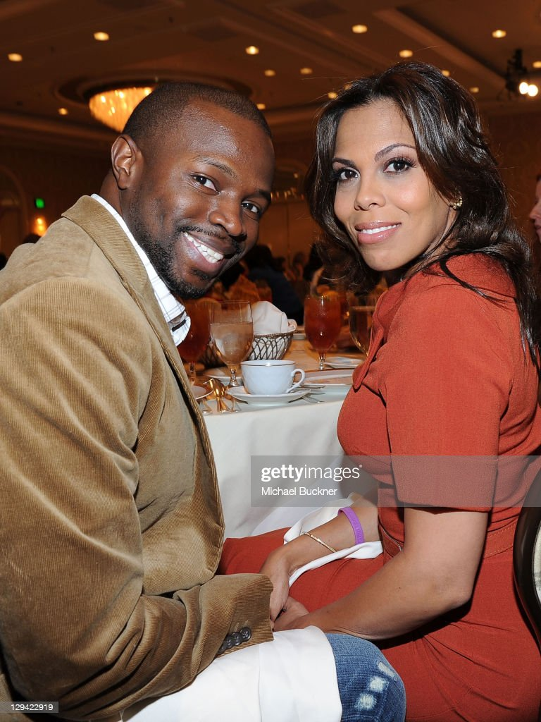 Actor <a gi-track='captionPersonalityLinkClicked' href=/galleries/search?phrase=Sean+Patrick+Thomas&family=editorial&specificpeople=228923 ng-click='$event.stopPropagation()'>Sean Patrick Thomas</a> and wife Aonika Laurent attend the March of Dimes Foundation & Samantha Harris Host 5th Annual Celebration of Babies Luncheon held at the Four Season Hotel Beverly Hills on November 13, 2010 in Beverly Hills, California.