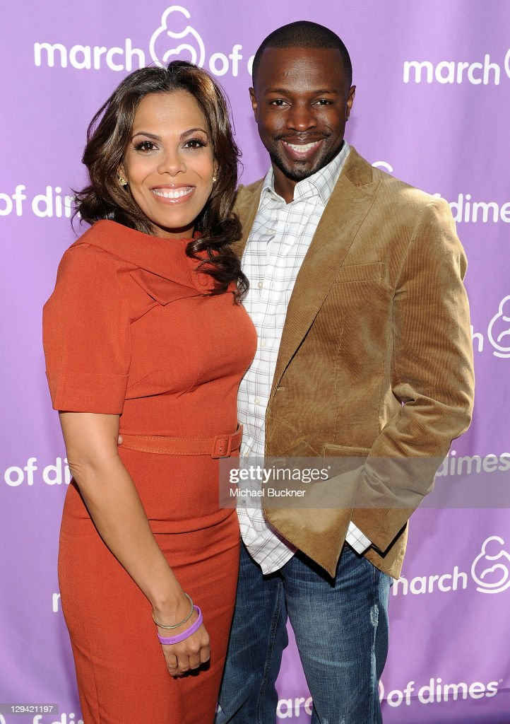Actor <a gi-track='captionPersonalityLinkClicked' href=/galleries/search?phrase=Sean+Patrick+Thomas&family=editorial&specificpeople=228923 ng-click='$event.stopPropagation()'>Sean Patrick Thomas</a> (R) and wife Aonika Laurent Thomas attend the March of Dimes Foundation & Samantha Harris Host 5th Annual Celebration of Babies Luncheon held at the Four Season Hotel Beverly Hills on November 13, 2010 in Beverly Hills, California.