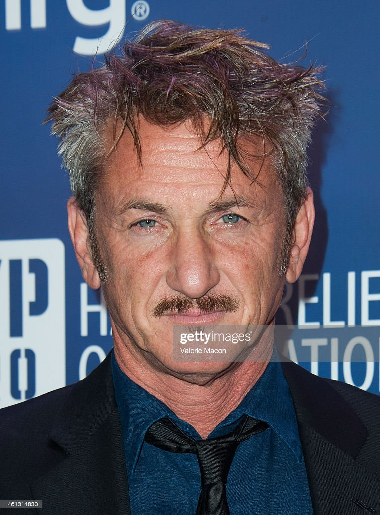 Actor <a gi-track='captionPersonalityLinkClicked' href=/galleries/search?phrase=Sean+Penn&family=editorial&specificpeople=202979 ng-click='$event.stopPropagation()'>Sean Penn</a> arrives at the 4th Annual <a gi-track='captionPersonalityLinkClicked' href=/galleries/search?phrase=Sean+Penn&family=editorial&specificpeople=202979 ng-click='$event.stopPropagation()'>Sean Penn</a> & Friends HELP HAITI HOME Gala Benefiting J/P Haitian Relief Organization at Montage Hotel on January 10, 2015 in Los Angeles, California.