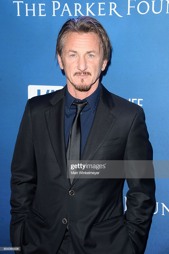 Actor <a gi-track='captionPersonalityLinkClicked' href=/galleries/search?phrase=Sean+Penn&family=editorial&specificpeople=202979 ng-click='$event.stopPropagation()'>Sean Penn</a> arrives at the 5th Annual <a gi-track='captionPersonalityLinkClicked' href=/galleries/search?phrase=Sean+Penn&family=editorial&specificpeople=202979 ng-click='$event.stopPropagation()'>Sean Penn</a> & Friends HELP HAITI HOME Gala benefiting J/P Haitian Relief Organization at Montage Hotel on January 9, 2016 in Beverly Hills, California.