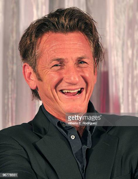 Actor Sean Penn at AARP Magazine's 9th Annual 'Movies for Grownups Awards at The Beverly Wilshire Hotel on February 16 2010 in Beverly Hills...