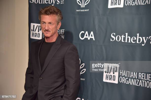 Actor Sean Penn attends Sean Penn Friends HAITI TAKES ROOT A Benefit Dinner Auction to Reforest Rebuild Haiti to Support J/P Haitian Relief...