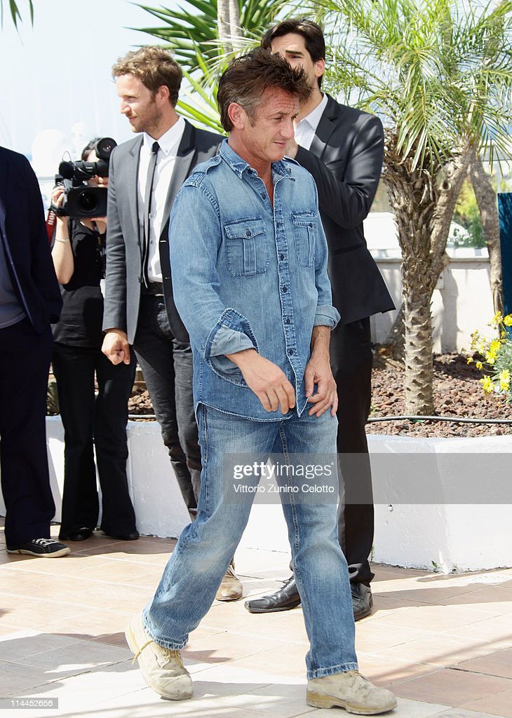 Actor Sean Penn attends sthe 'This Must Be The Place' photocall during the 64th Annual Cannes Film Festival at Palais des Festivals on May 20, 2011 in Cannes, France.