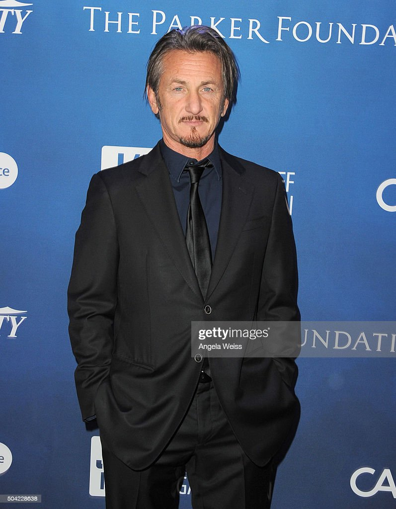 Actor <a gi-track='captionPersonalityLinkClicked' href=/galleries/search?phrase=Sean+Penn&family=editorial&specificpeople=202979 ng-click='$event.stopPropagation()'>Sean Penn</a> attends the 5th Annual <a gi-track='captionPersonalityLinkClicked' href=/galleries/search?phrase=Sean+Penn&family=editorial&specificpeople=202979 ng-click='$event.stopPropagation()'>Sean Penn</a> & Friends HELP HAITI HOME Gala benefiting J/P Haitian Relief Organization at Montage Hotel on January 9, 2016 in Beverly Hills, California.