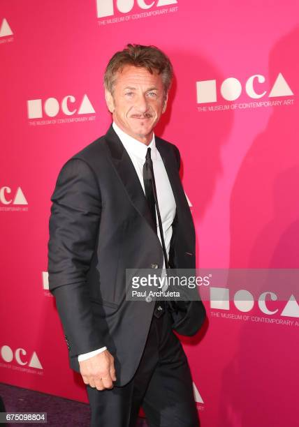 Actor Sean Penn attends the MOCA Gala 2017 at The Geffen Contemporary at MOCA on April 29 2017 in Los Angeles California