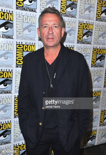 Actor Sean Pertwee at the 'Gotham' Press Line during ComicCon International 2017 at Hilton Bayfront on July 22 2017 in San Diego California