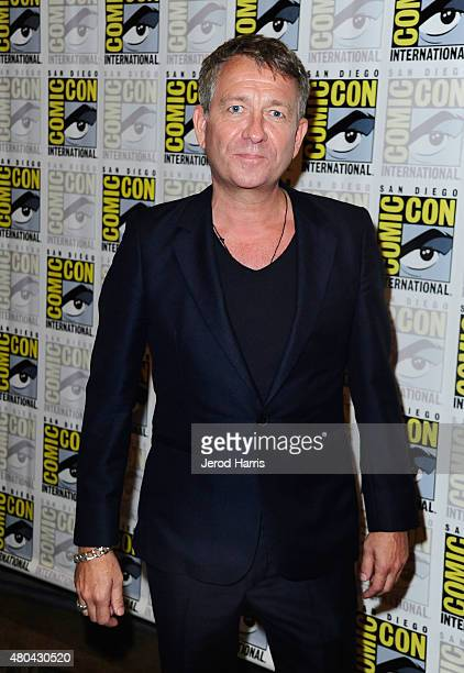 Actor Sean Pertwee attends the 'Gotham' press room during ComicCon International 2015 at the Hilton Bayfront on July 11 2015 in San Diego California
