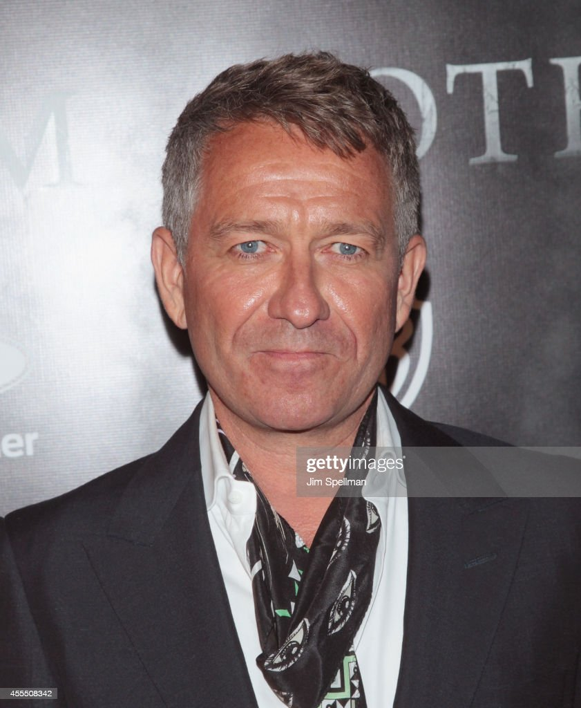 Actor Sean Pertwee attends the 'Gotham' Series Premiere at The New York Public Library on September 15, 2014 in New York City.