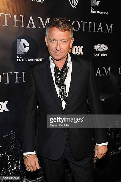 Actor Sean Pertwee attends the GOTHAM Series Premiere event on September 15 2014 in New York City