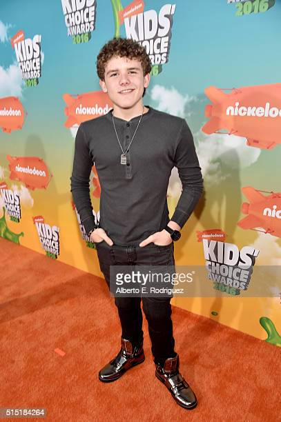 Actor Sean Ryan Fox attends Nickelodeon's 2016 Kids' Choice Awards at The Forum on March 12 2016 in Inglewood California