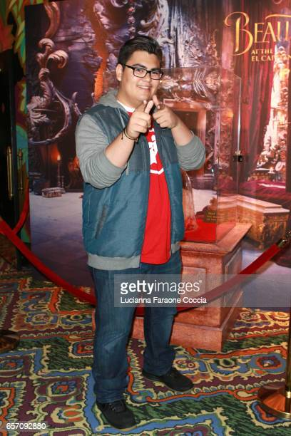 Actor SeanRyan Petersen attends Red Walk special screening of Disney's 'Beauty And The Beast' at El Capitan Theatre on March 23 2017 in Los Angeles...
