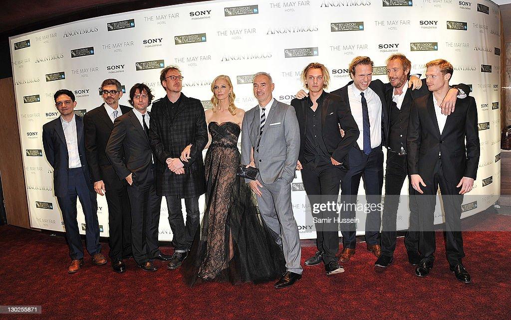 Anonymous - Premiere:55th BFI London Film Festival