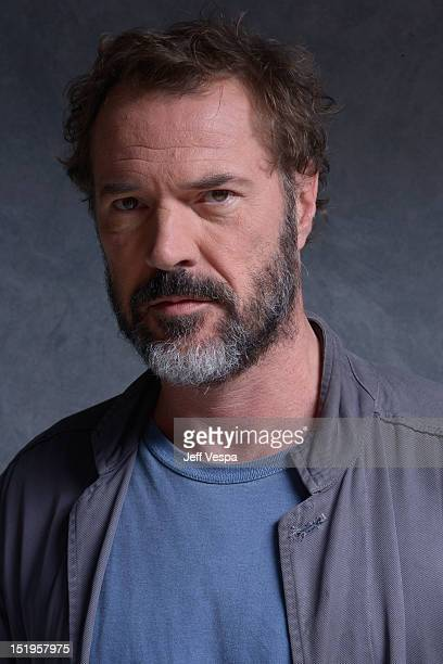 Actor Sebastian Koch of 'God Loves Caviar' poses at the Guess Portrait Studio during 2012 Toronto International Film Festival on September 13 2012 in...