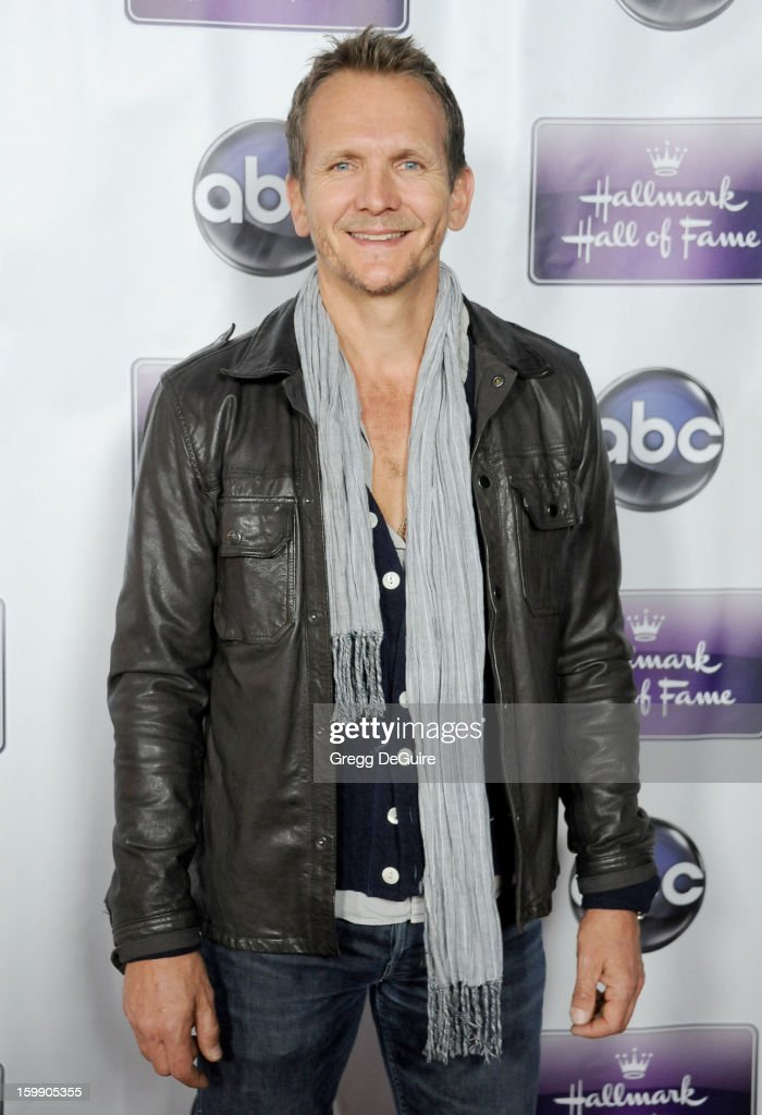 Actor Sebastian Roche arrives at the Los Angeles premiere of 'The Makeover' at Fox Studio Lot on January 22, 2013 in Century City, California.