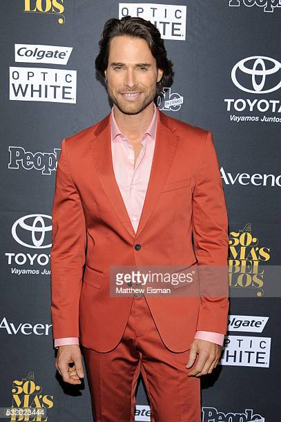 Actor Sebastian Rulli attends People En Espanol's '50 Most Beautiful' at Espace on May 17 2016 in New York City