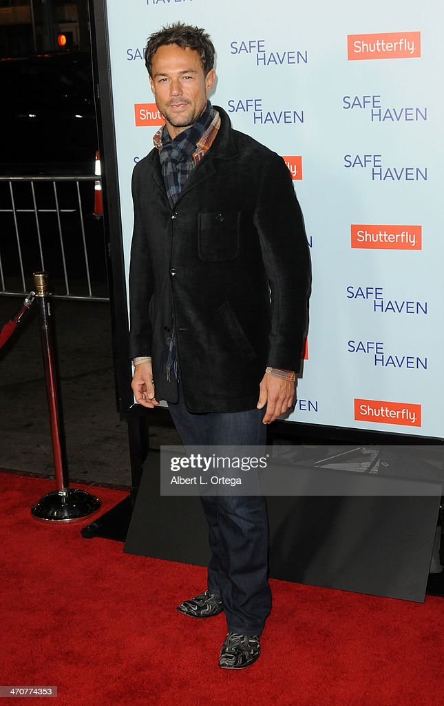 Actor Sebastian Siegel arrives for the Premiere Of Relativity Media's 'Safe Haven' held at The TCL Chinese Theater on February 5, 2013 in Hollywood, California.