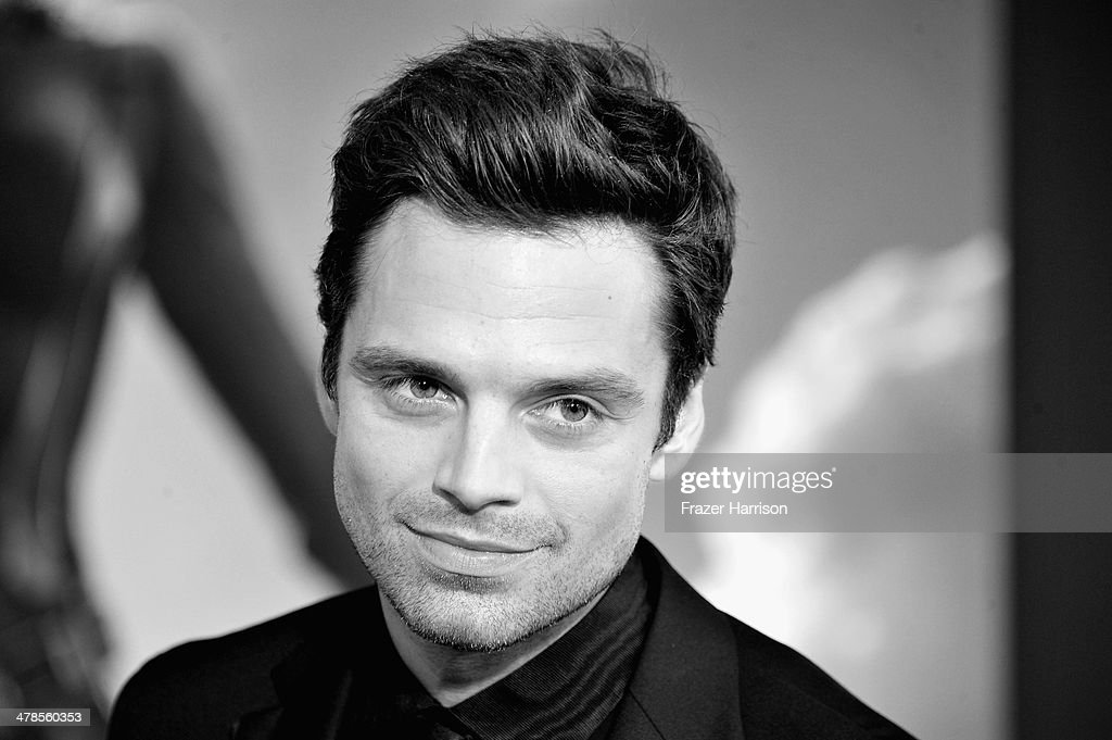 Actor <a gi-track='captionPersonalityLinkClicked' href=/galleries/search?phrase=Sebastian+Stan&family=editorial&specificpeople=656034 ng-click='$event.stopPropagation()'>Sebastian Stan</a> arrives at the premiere Of Marvel's 'Captain America:The Winter Soldier at the El Capitan Theatre on March 13, 2014 in Hollywood, California.