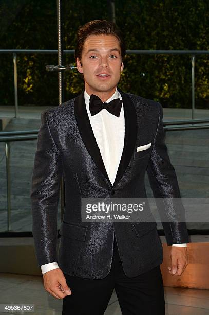 Actor Sebastian Stan attends the 2014 CFDA fashion awards at Alice Tully Hall Lincoln Center on June 2 2014 in New York City