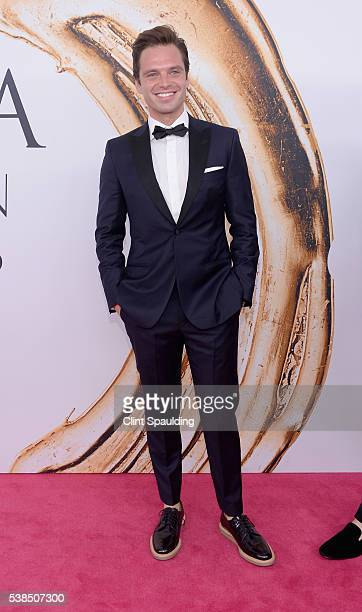 Actor Sebastian Stan attends the 2016 CFDA Fashion Awards at the Hammerstein Ballroom on June 6 2016 in New York City