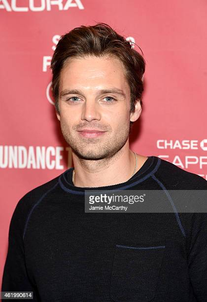 Actor Sebastian Stan attends 'The Bronze' Premiere at the Eccles Center Theatre during the 2015 Sundance Film Festival on January 22 2015 in Park...