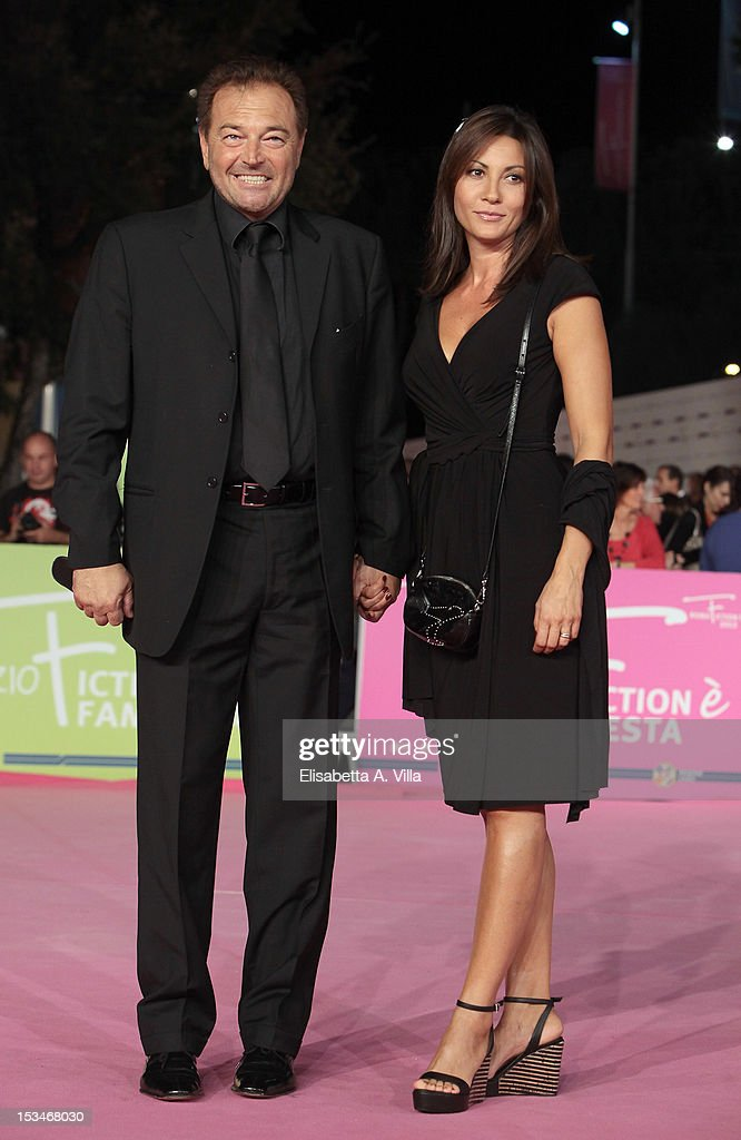 Actor Sebastiano Somma and wife Morgana Somma attend the 2012 RomaFictionFest Closing Cerimony at Auditorium Parco della Musica on October 5, 2012 in Rome, Italy.