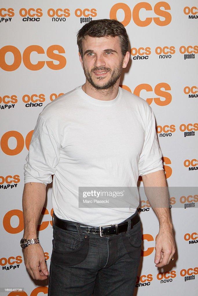 Actor Sebastien Barrio attends the 'QI' Premiere at Forum Des Images on April 4, 2013 in Paris, France.