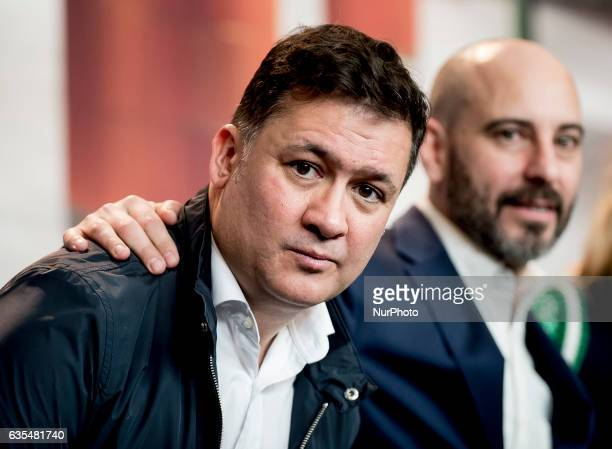 Actor Secun de la Rosa attends the Bar photocall during the 67th Berlinale International Film Festival Berlin at Grand Hyatt Hotel on February 15...
