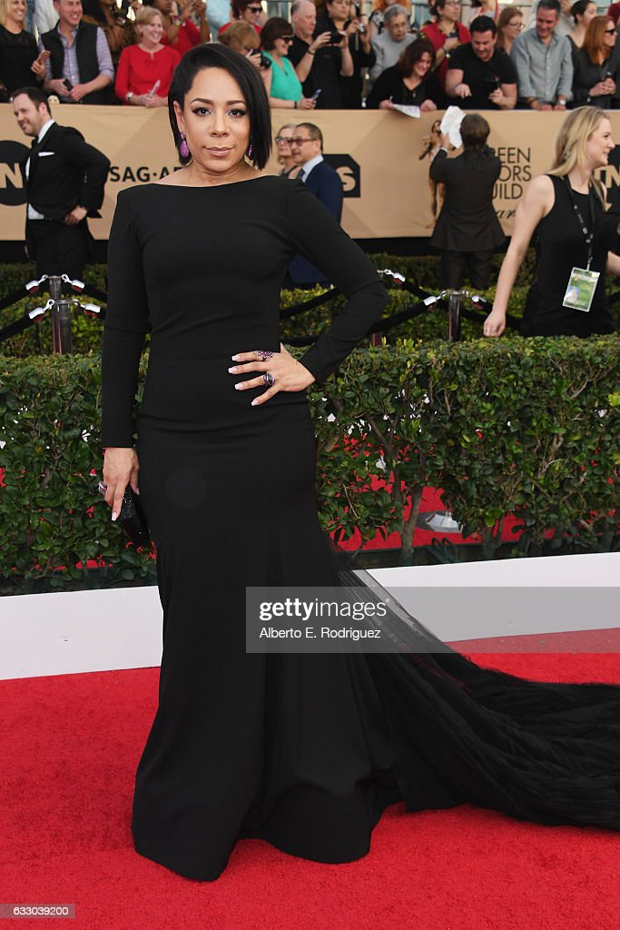 Actor Selenis Leyva attends the 23rd Annual Screen Actors Guild Awards at The Shrine Expo Hall on January 29, 2017 in Los Angeles, California.